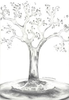Tree Of Water by Irizzz-loves-drawing
