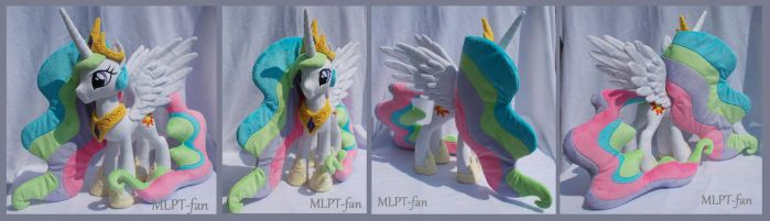 23 inches Princess Celestia with spread wings by calusariAC