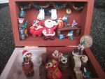Christmas diorama: Five minutes to Christmas by SelloCreations