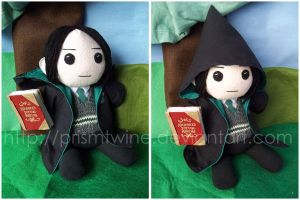 Commish: Young Snape by prismtwine