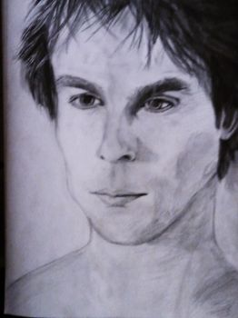Damon Salvatore by EllenMarie1708