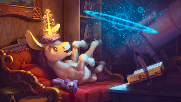Astronomy is Magic by Cannibalus
