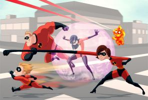 The Incredibles by shadowstheater