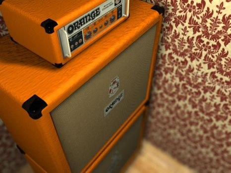 Orange Amp Renders by technominds