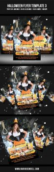 Halloween Flyer Template 3 by MarioGembell
