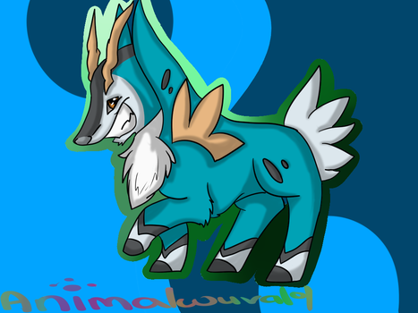 Cobalion by animalwuva101