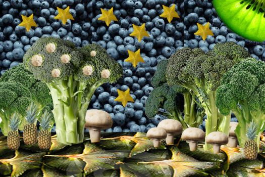 Veggie Forest by Pacino4Me