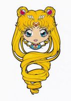Sailor Moon Chibi Colored by Maiko-Girl
