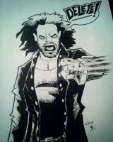 matt hardy coloring pages - kyn drick water color by suicidalassassin on deviantart