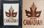 Woodburning - Mouthy Canadian Deadpool by Stepher17