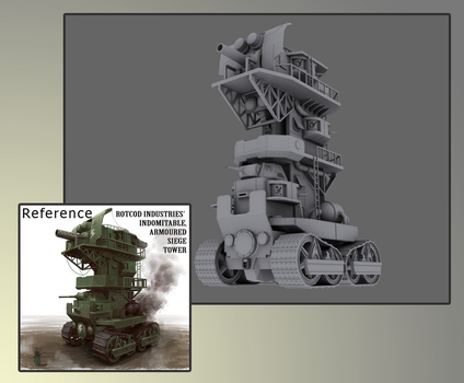 Armoured Siege Tower by SergeantCool