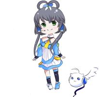 Vocaloid 3: Luo Tianyi by axxifi