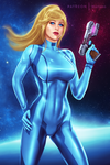 Zero Suit Samus by martaino