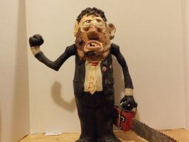 Leatherface Bubba potatohead by Potatoheadmaster