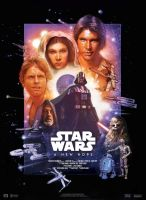 Star Wars IV : A New Hope - Movie Poster by nei1b