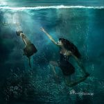 Submerged Encounter by amethystmoonsong