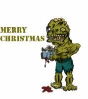 A zombie chrismas to all by PeaceEatter