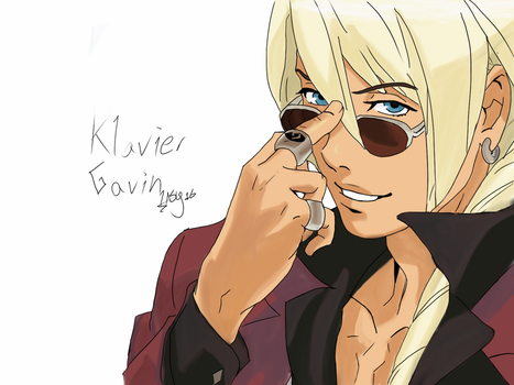 Klavier Gavin [Ace Attorney Series] by RockingGamerGirl