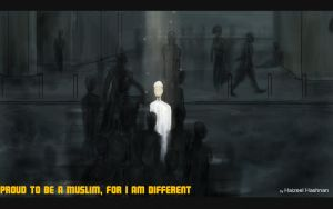 Muslim, I'm Different by Haizeel