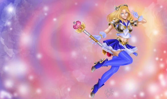 Magical Girl Lux by Toffee-bar
