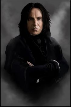 There Will Be No Silly Incantations - Snape by missimoinsane