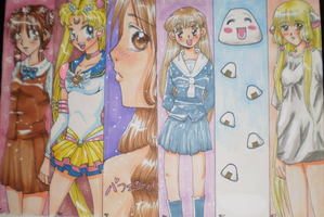 Book Marks 1 by Tamoko
