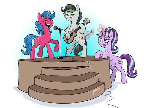 Kelly Sheridan EFNW 2015 Announcement Art by EverfreeNW