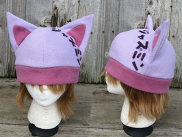 Pink Cat Hat by clearkid