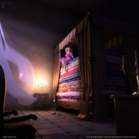 The Princess and The Pea by pixelbudah