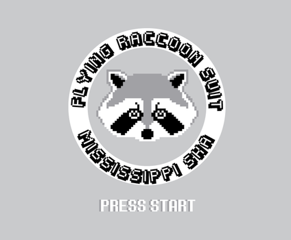 8-Bit Flying Raccoon Suit by DANgerous124