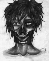 Skull Face by LiLaYpSi