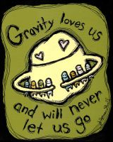 Gravity Loves Us by Artifictions