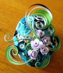 Quilled egg by Craftcove