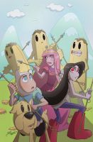 Adventure Time Variant Cover by Bloodzilla-Billy