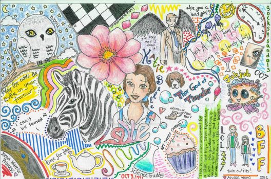 Doodle page for Katie by kawaii-candy-chan