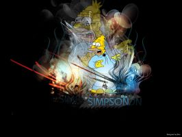 Abe Simpson by Bloo69
