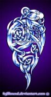 Celtic Snakes by H3LLB0uND
