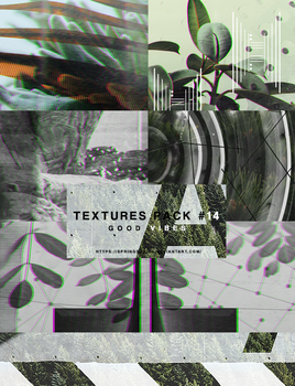 Textures Pack #14 - Good Vibes by SpringSabila
