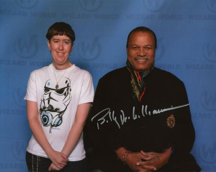 Billy Dee Williams and Me by StarSeekerDragoness