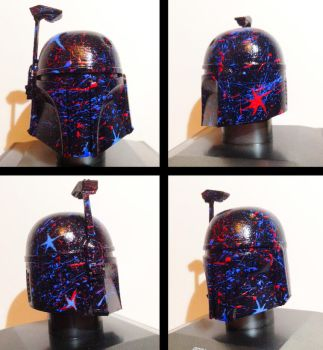 The Splash Fett - Custom Helmet - Star Wars by Pop-custom
