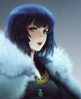 Fubuki Blizzard - One Punch Man by Zeronis