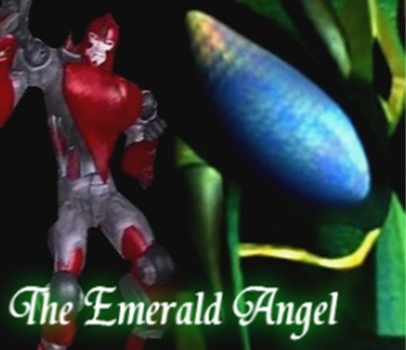 Emerald Angel - Fanfic Cover by Shockbox