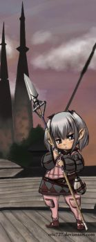 Final Fantasy XIV - Lalafell by Eric727