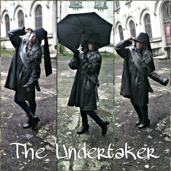 Cosplay Undertaker 1 by AlexisYoko