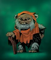 Old Ewok by pungang