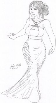 Dress Design 456 A by Tribble-Industries