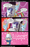 Update with style by BlueySketches