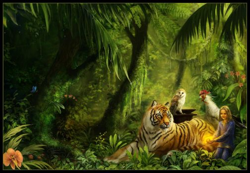 Miranda and the Tiger's Eye by Dianae