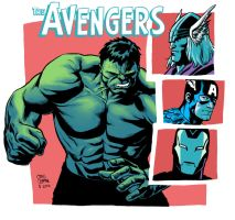 The Avengers by craigcermak