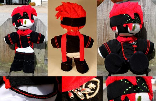 Lavi plushie collage by RurouniImiko